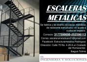 Escalones y escaleras de tipo metalico