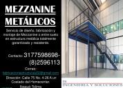 Montaje de mezzanine o entre suelo en estructura m