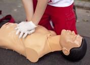 Curso de camillero y primeros auxilios en medellin