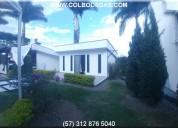 Rento  o vendo  casa campestre 1400 mts2 cac-004 p