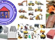 Materiales para la construccion   maquinaria y e