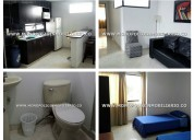 apartamento amoblado - alquiler en medellin . 8679