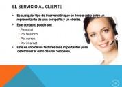 Curso de servicio al cliente en medellin