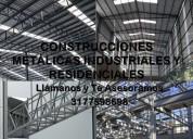 Diseño, fabricación y montaje de estructuras metál