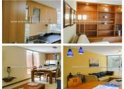 Apartamento amoblado - la renta en medellin el854
