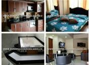 Apartamento amoblado- la renta en medellin e8321l