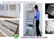 gondolas para farmacias y opticas