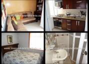 apartamento amoblado - alquilar / laureles cod */