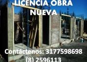 Se presta asesoría en licencia construcción.