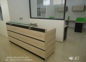 Fabricamos instalamos muebles de oficina