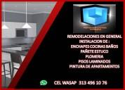 Instalacion enchapes en baÑos cocinas 313 4961076