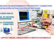Mantenimiento reparaciÒn de pc actualizaciÒn e instalacion de software, contactarse.