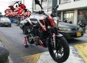 Duke 200 modelo 2013 biker shop,  contactarse.