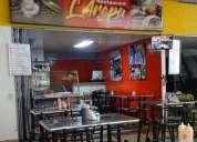 Venta excelente local y restaurante completamente equipado.