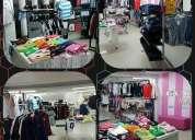 Se vende almacen de ropa