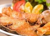 Cocinero experiencia pescados