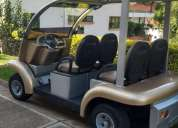 Espectacular carro de golf electrico solar 4 asientos