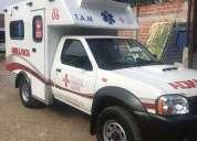 Ambulancia nissan frontier 4x4
