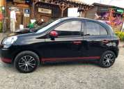 Nissan march sport active, contactarse.