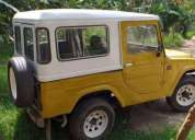 Vendo carro campero daihatsu f20 modelo 1977