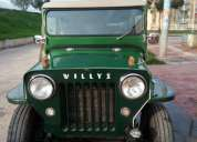 Jeep willys modelo 1954, contactarse.
