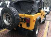 Se vende cj7 4200 cc, contactarse