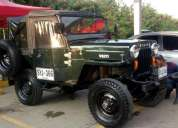 Vendo willys modelo 54