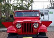 Campero jeep willys, contactarse.