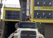 Camion grua boom truck 16 ton