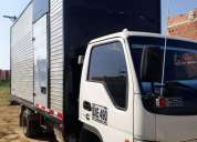 Excelente camion con furgon marca jac