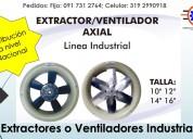 Comercialización extractores ventiladores industri