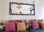 Espejos con marco en mdf decoracion en vinilos