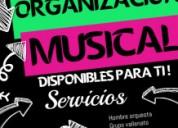 Servicio musical de calidad hombre orquesta