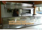 Marmitas,hornos,estufas entre otras
