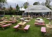 alquiler de sillas para picnic en bogotá