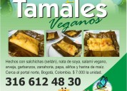 Los mejores tamales veganos de bogotá