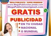 ⭐ gratis= mega publicidad, agencia, publicista, po