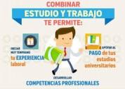 Trabajo medio tiempo para estudiantes