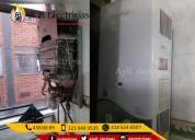 Arreglo de calentadores a gas y electricos