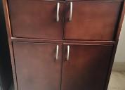 Armario ropero antiguo de 2 puestos