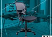 Silla giratoria para oficina, sillas fijas