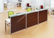 Recepciones o modulos de atencion para oficinas
