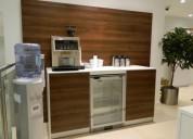 Muebles de cafeteria para oficinas y empresas