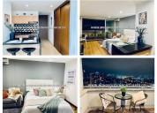 Se renta apartamento amoblado cod:14675