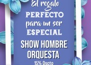 Oferta especial musical de hombre orquesta