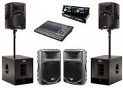 ¡equipos de sonido y amplificación en pereira!