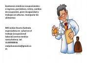 medico salud ocupacional laboral seguridad trabajo