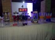 Estación de hidratación para eventos empresariales