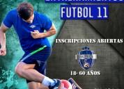Entrenamiento para adultos futbol de 18 a 55 años