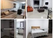Apartamento amoblado en renta - envigado cod:14124